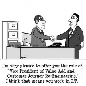 Customer Value cartoon
