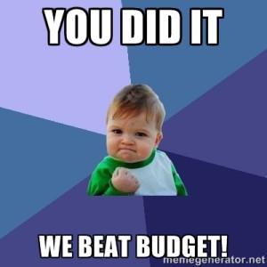 Beat Budget